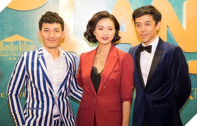 Ngô Thanh Vâncùng hai nam diễn viên chínhIsaacvàLiên Bỉnh Phát