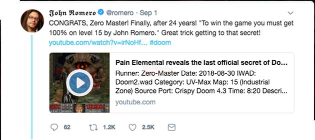 Doom II - sau hơn 20 năm cuối cùng thì bí ẩn lớn nhất của