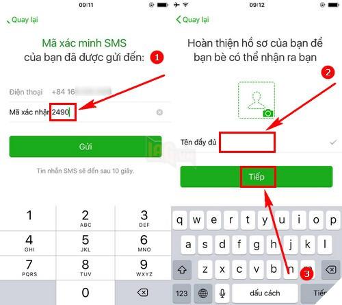 Hướng dẫn cách tạo tài khoản Wechat để chơi các PUBG mobile Trung Quốc với các tính năng mới nhất 2018 4