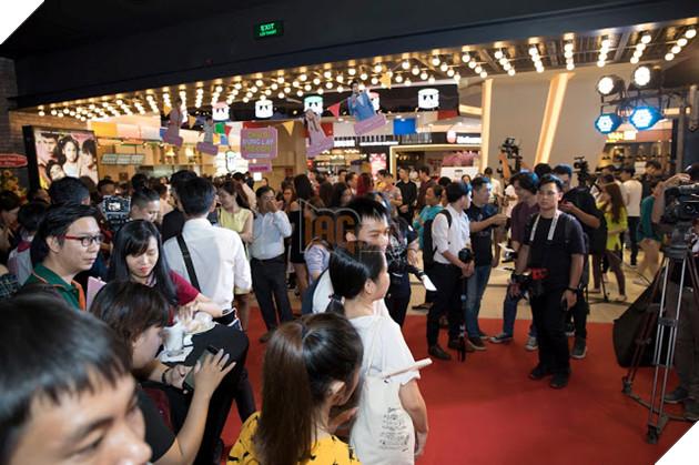 An Nguy - Kiều Minh Tuấn ngại ngùng khi họp báo ra mắt phim mới 14