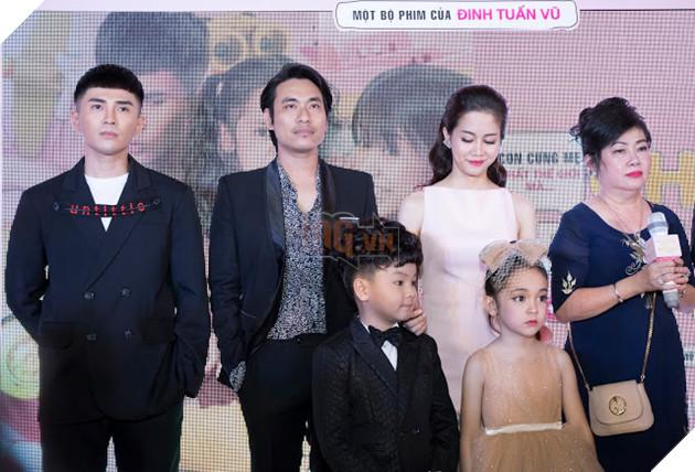 An Nguy - Kiều Minh Tuấn ngại ngùng khi họp báo ra mắt phim mới