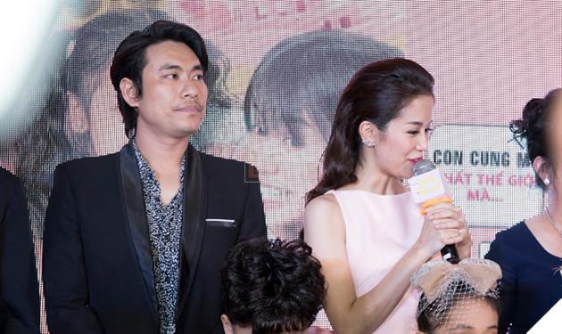 An Nguy - Kiều Minh Tuấn ngại ngùng khi họp báo ra mắt phim mới 2
