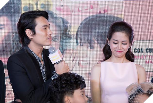 An Nguy - Kiều Minh Tuấn ngại ngùng khi họp báo ra mắt phim mới 22
