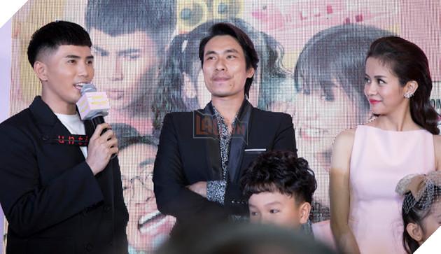 An Nguy - Kiều Minh Tuấn ngại ngùng khi họp báo ra mắt phim mới 24
