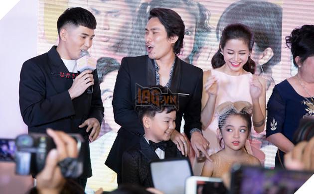 An Nguy - Kiều Minh Tuấn ngại ngùng khi họp báo ra mắt phim mới 3
