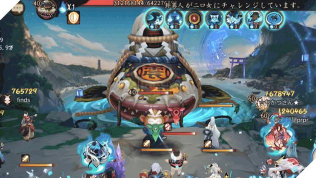 Âm Dương Sư: Hướng dẫn Boss Cá Trê Jishin Namazu với đội hình cơ bản dễ qua nhất 3