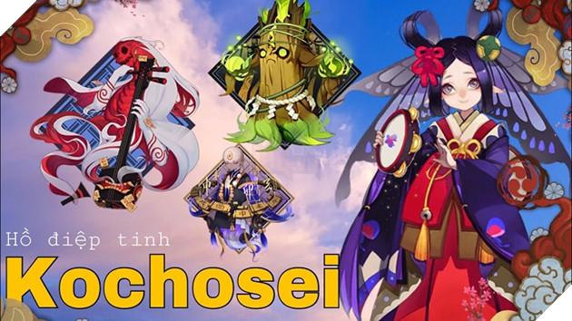 Âm Dương Sư: Hướng dẫn Kochosei - Hồ Điệp Tinh siêu hồi máu đơn thể cho team 3