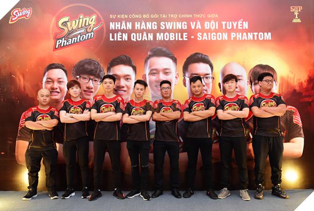 Sự kiện công bố gói tài trợ chính thức Swing Phantom 14