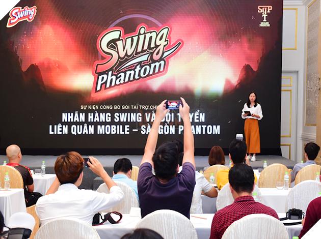 Sự kiện công bố gói tài trợ chính thức Swing Phantom 20