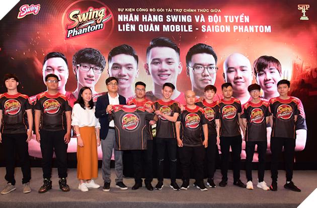Sự kiện công bố gói tài trợ chính thức Swing Phantom 23