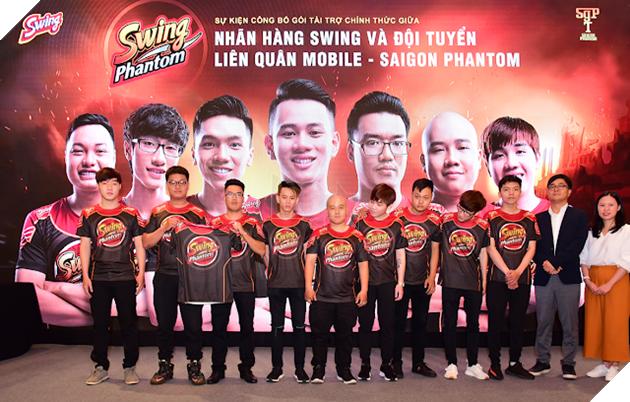 Sự kiện công bố gói tài trợ chính thức Swing Phantom 24