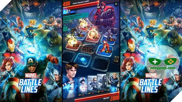 Nexon ra mắt game siêu anh hùng Marvel thẻ bài đầy hứa hẹn và hấp dẫn 2
