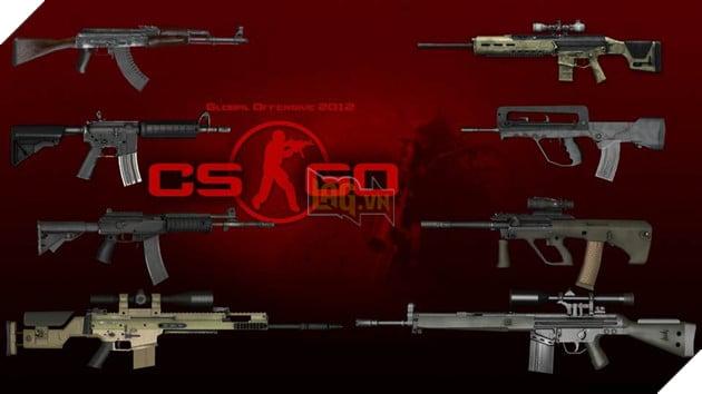 Counter-Strike: Global Offensive: Hướng dẫn thông tin chi tiết các mẫu súng trường Assault Rifle mạnh nhất trong game