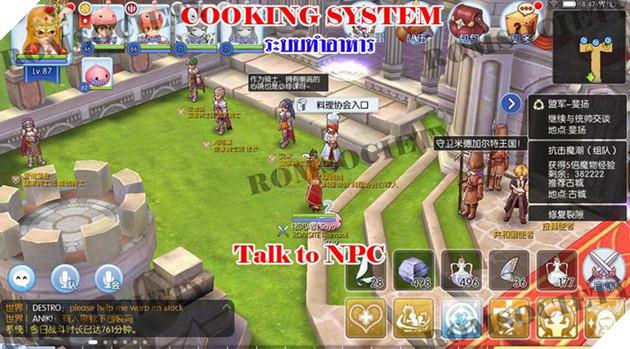 Ragnarok Mobile: Hướng dẫn Nhiệm vụ Nấu Ăn và cách Nấu Ăn Cơ bản nhất cho tân thủ 2