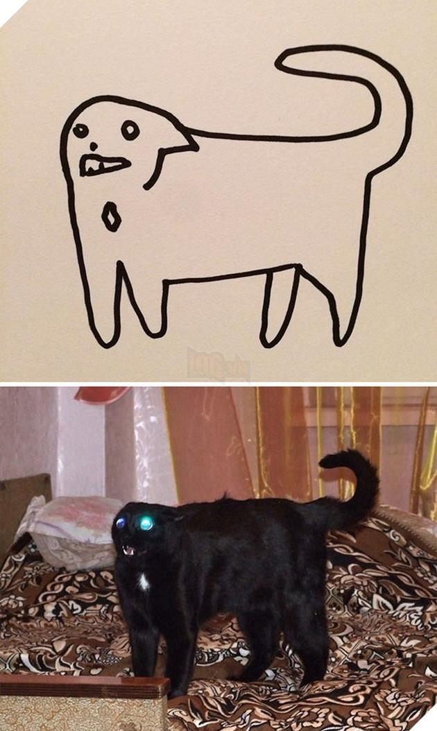 Vẽ mèo nguệch ngoạc khó cưỡng, trang Twitter thu hút 188.000 followers và kiếm được cả đống tiền - Ảnh 10.