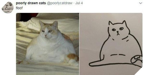 Vẽ mèo nguệch ngoạc khó cưỡng, trang Twitter thu hút 188.000 followers và kiếm được cả đống tiền