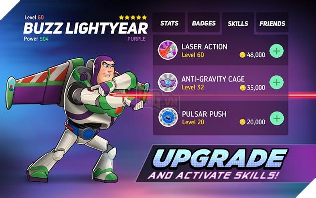 Disney Heroes: Battle Mode – Game siêu anh hùng từ hoạt hình của Disney