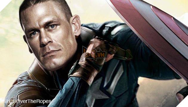 Không phải các siêu anh hùng quen thuộc, John Cena mới là người tiếp theo trở thành Captain America? - Ảnh 3.