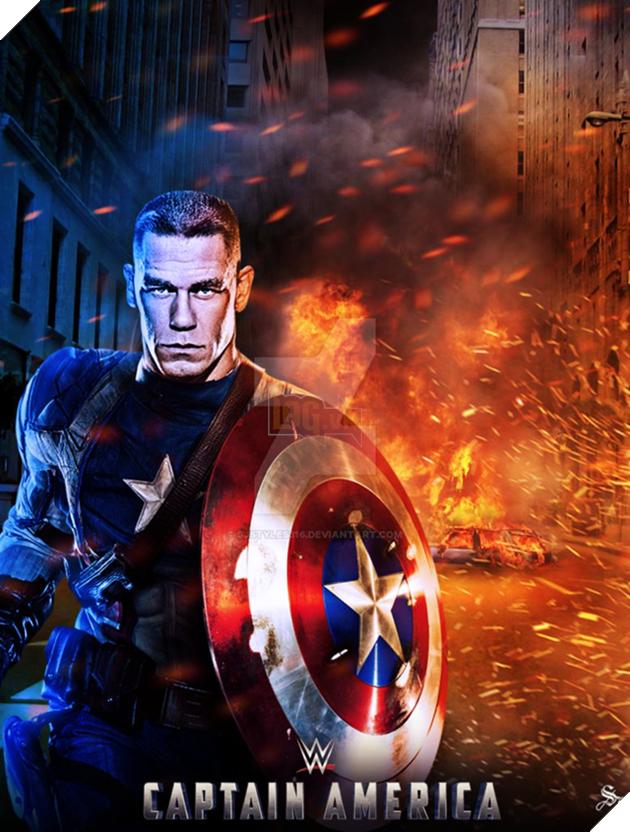 Không phải các siêu anh hùng quen thuộc, John Cena mới là người tiếp theo trở thành Captain America? - Ảnh 6.