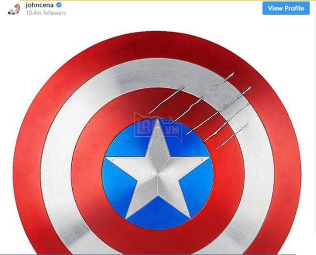 Không phải các siêu anh hùng quen thuộc, John Cena mới là người tiếp theo trở thành Captain America? - Ảnh 1.