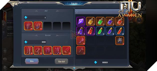 MU Awaken - VNG cho phép người chơi giao dịch trực tiếp 3