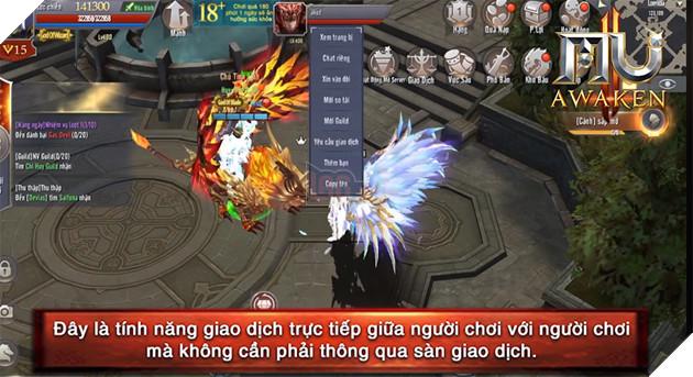 MU Awaken - VNG cho phép người chơi giao dịch trực tiếp 6