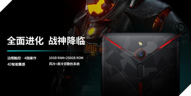Nubia Red Magic 2 ra mắt chính thức, cấu hình tương đương Black Shark 2, giá chỉ 13 triệu 3