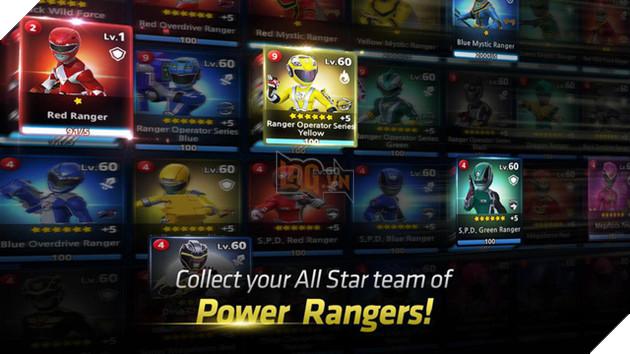 Power Rangers: All Stars chính thức ra mắt phiên bản toàn cầu - Ảnh 2.