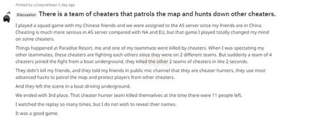 PUBG: Bất ngờ với sự xuất hiện của biệt đội công lý, sử dụng hack cheat để kết liễu những hacker, cheater. - Ảnh 1.