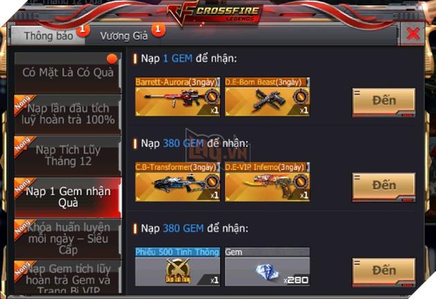 CrossFire Legends: Đồng hành Chung Kết cùng ĐTQG Việt Nam nhận ngay vũ khí cận chiến VIP miễn phí 4