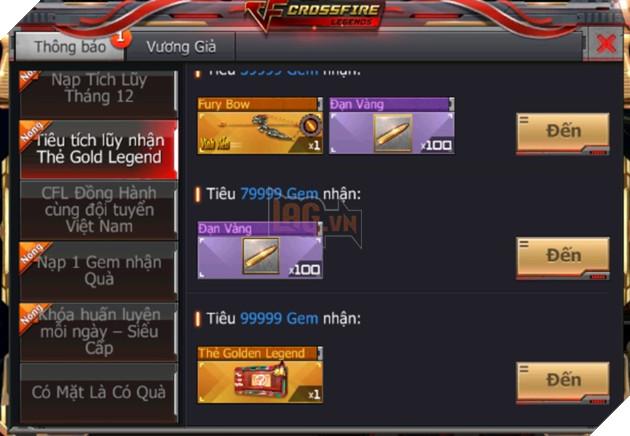 CrossFire Legends: Đồng hành Chung Kết cùng ĐTQG Việt Nam nhận ngay vũ khí cận chiến VIP miễn phí 7