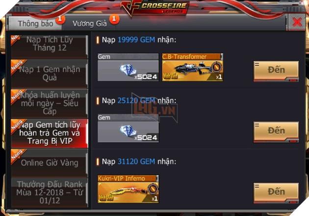 CrossFire Legends: Đồng hành Chung Kết cùng ĐTQG Việt Nam nhận ngay vũ khí cận chiến VIP miễn phí 8
