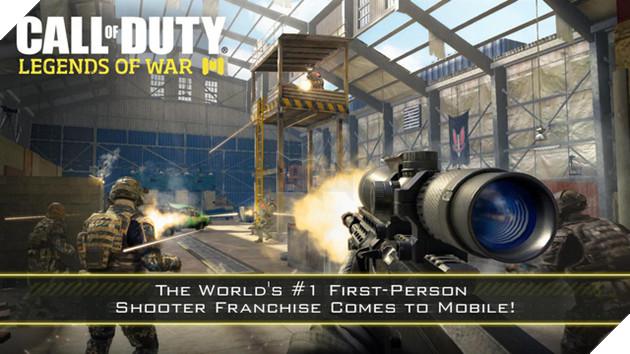 Call of Duty: Legends of War tung trailer hoành tráng khiến game thủ mobile háo hức 2
