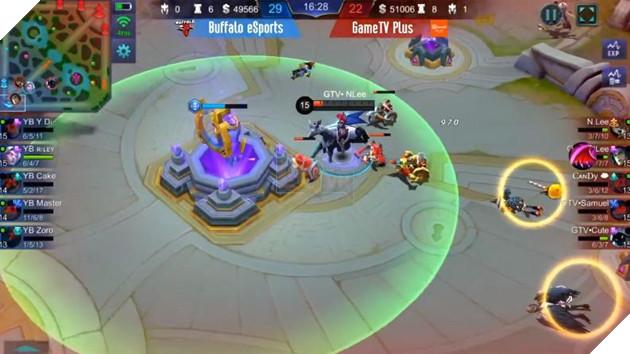 Fantasy Main gom tiền thưởng giải Tứ Hùng Mobile Legends: Bang Bang VNG