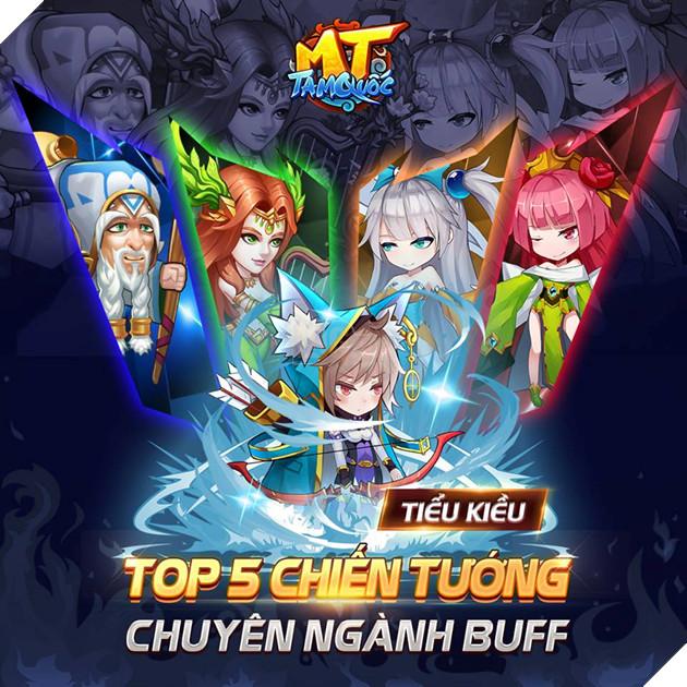 Top 5 Tướng thuần Buff mạnh mẽ nhất mà game thủ nên sở hữu trong MT Tam Quốc 2