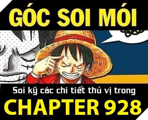 One Piece 928 Spoiler - xăm soi những chi tiết bất ngờ trong truyện