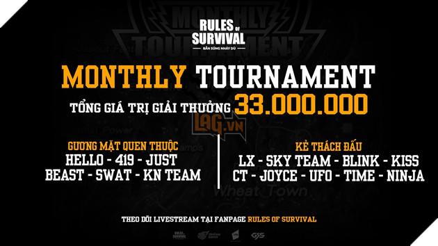 Cuối tuần này xem gì? Chung kết ROS Mobile Monthly Tournament với giải thưởng 33 triệu đồng vào 17h ngày 21, 22/12 5