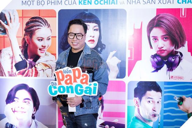 Thái Hòa và Kaity Nguyễn đẹp rạng ngời nhân dịp ra mắt Hop Báo Hồn Papa da con gái  3