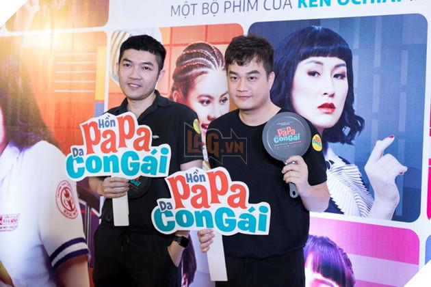 Thái Hòa và Kaity Nguyễn đẹp rạng ngời nhân dịp ra mắt Hop Báo Hồn Papa da con gái  6