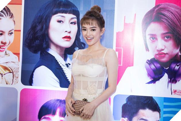 Thái Hòa và Kaity Nguyễn đẹp rạng ngời nhân dịp ra mắt Hop Báo Hồn Papa da con gái  9