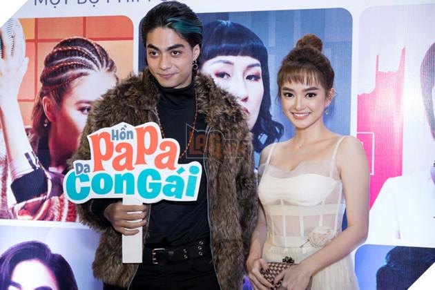 Thái Hòa và Kaity Nguyễn đẹp rạng ngời nhân dịp ra mắt Hop Báo Hồn Papa da con gái  10