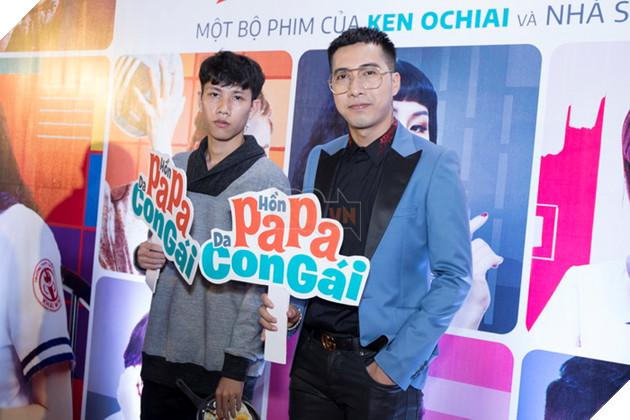Thái Hòa và Kaity Nguyễn đẹp rạng ngời nhân dịp ra mắt Hop Báo Hồn Papa da con gái  15