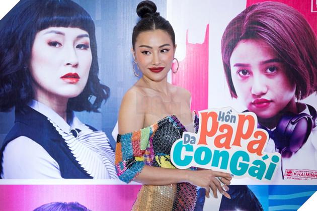 Thái Hòa và Kaity Nguyễn đẹp rạng ngời nhân dịp ra mắt Hop Báo Hồn Papa da con gái  17