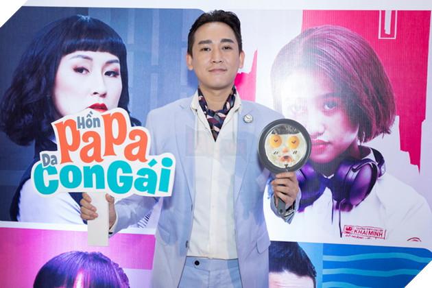Thái Hòa và Kaity Nguyễn đẹp rạng ngời nhân dịp ra mắt Hop Báo Hồn Papa da con gái  19