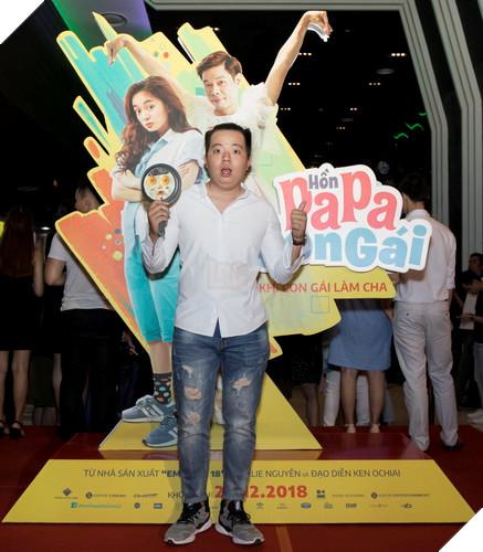 Thái Hòa và Kaity Nguyễn đẹp rạng ngời nhân dịp ra mắt Hop Báo Hồn Papa da con gái  23