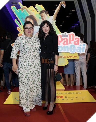 Thái Hòa và Kaity Nguyễn đẹp rạng ngời nhân dịp ra mắt Hop Báo Hồn Papa da con gái  25