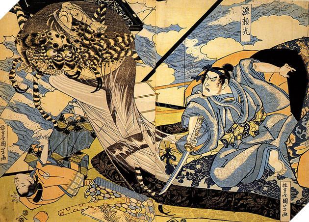 Minamoto no Yorimitsu - Nguyên Lại Quang trong lịch sử là ai và trong Âm Dương Sư có gì khác? 2