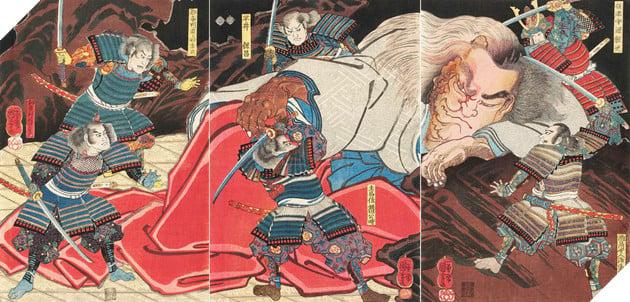 Minamoto no Yorimitsu - Nguyên Lại Quang trong lịch sử là ai và trong Âm Dương Sư có gì khác? 3