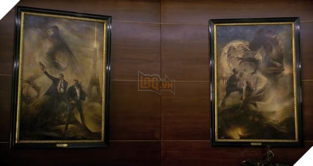 Bộ phim có 1 chút nhắc lại bộ đôi J & K huyền thoại của tổ chức Men in Black