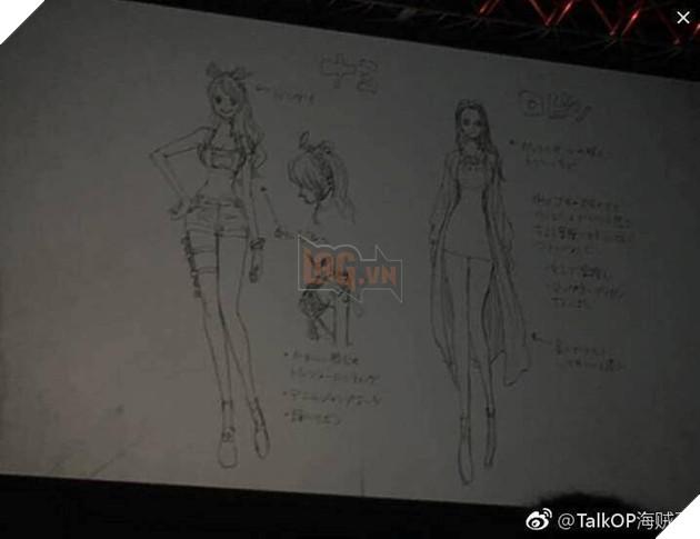 Một số hình anh được Leak sớm về One Piece 929 và tạo hình của Luffy trong One Piece Stampede 4